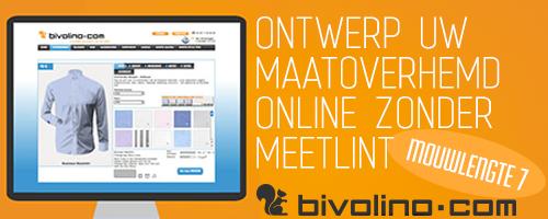 Bivolino, customized shirts on the web