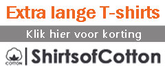Shirts of Cotton, 15% korting voor KLM-leden